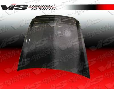 VIS Racing - Acura TL VIS Racing OEM Black Carbon Fiber Hood - 04ACTL4DOE-010C
