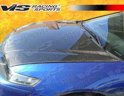 VIS Racing - Acura TSX VIS Racing OEM Black Carbon Fiber Hood - 04ACTSX4DOE-010C