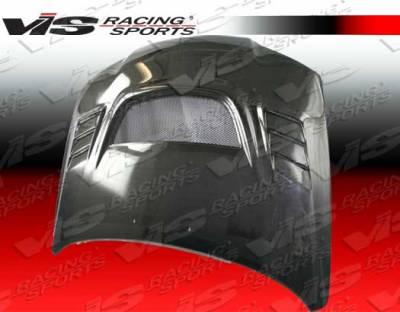 VIS Racing - Hyundai Elantra 4DR VIS Racing G Speed Black Carbon Fiber Hood - 04HYELA4DGSP-010C