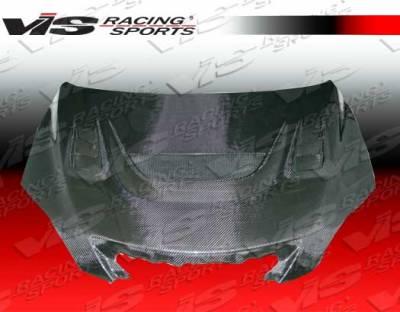 VIS Racing - Mazda 3 4DR HB VIS Racing G Speed Black Carbon Fiber Hood - 04MZ3HBGS-010C