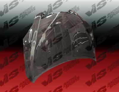 VIS Racing - Mazda 3 4DR HB VIS Racing OEM Black Carbon Fiber Hood - 04MZ3HBOE-010C