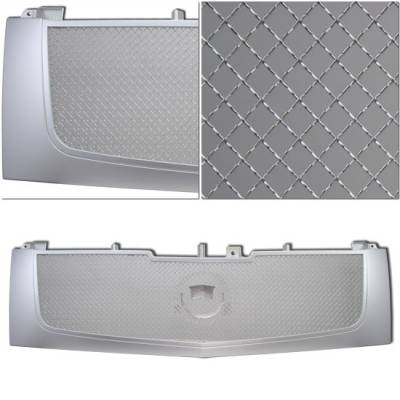 Custom - Silver Mesh Front Grille