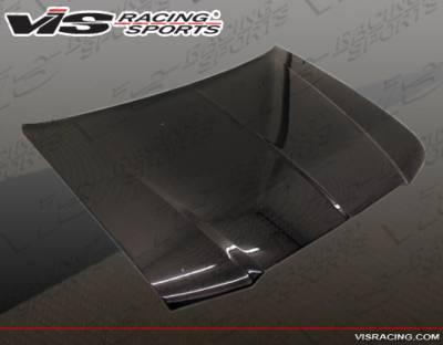 VIS Racing - Chrysler 300 VIS Racing OEM Black Carbon Fiber Hood - 05CY3004DOE-010C