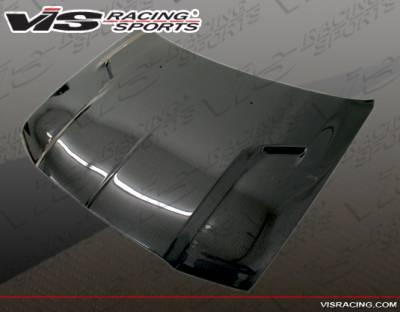 VIS Racing - Chrysler 300 VIS Racing SRT-2 Black Carbon Fiber Hood - 05CY3004DSRT2-010C