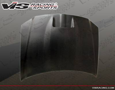 VIS Racing - Dodge Magnum VIS Racing Fiberglass Hood - 05DGMAG4DSRT-010