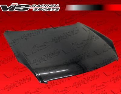VIS Racing - Infiniti G35 4DR VIS Racing OEM Black Carbon Fiber Hood - 05ING354DOE-010C