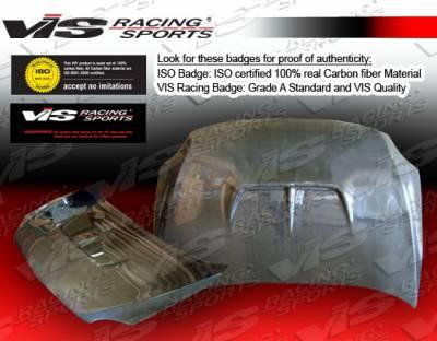 VIS Racing - Scion tC VIS Racing Zyclone Black Carbon Fiber Hood - 05SNTC2DZYC-010C
