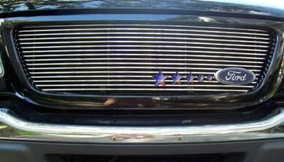 APS - Ford Ranger APS Billet Grille - Shell Closed - Upper - Aluminum - F85325A