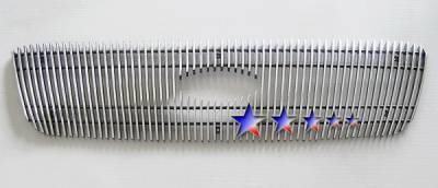 APS - Ford Ranger APS Billet Grille - Shell Closed - Upper - Aluminum - F85325V