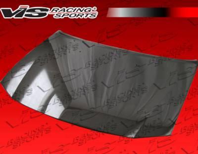 VIS Racing - Dodge Charger VIS Racing OEM Black Carbon Fiber Hood - 06DGCHA4DOE-010C