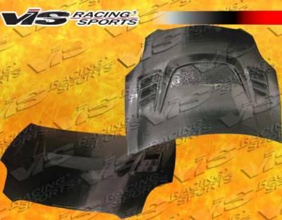 VIS Racing - Mitsubishi Eclipse VIS Racing G Speed Black Carbon Fiber Hood - 06MTECL2DGS-010C