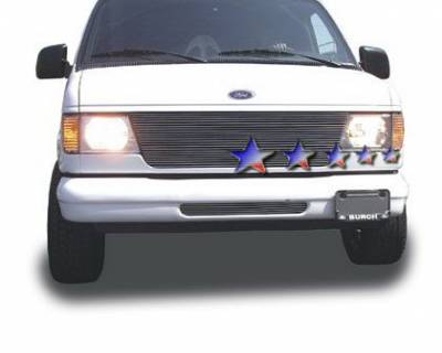 APS - Ford E-Series APS Billet Grille - 22 Bar - Upper - Aluminum - F85337A