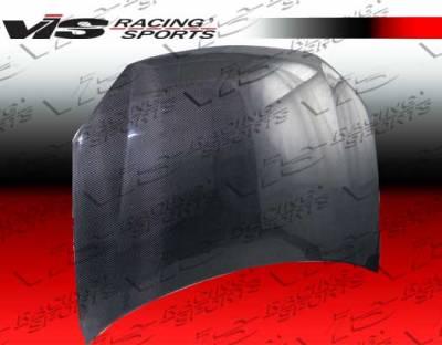 VIS Racing - Volkswagen Jetta VIS Racing OEM Black Carbon Fiber Hood - 06VWJET4DOE-010C