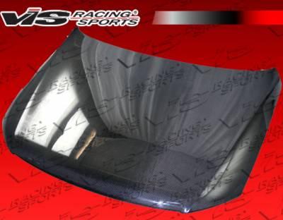 VIS Racing - Volkswagen Passat VIS Racing OEM Black Carbon Fiber Hood - 06VWPAS4DOE-010C