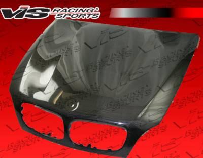 VIS Racing - BMW X5 VIS Racing OEM Black Carbon Fiber Hood - 07BME704DOE-010C