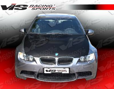 VIS Racing - BMW 3 Series 2DR VIS Racing M3 Black Carbon Fiber Hood - 07BME922DM3-010C