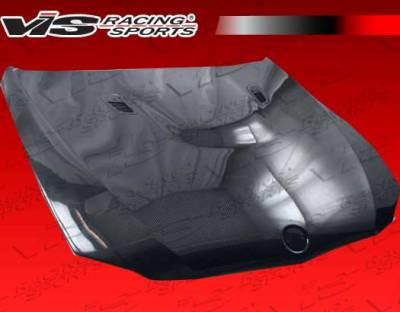 VIS Racing - BMW 3 Series VIS Racing OEM Black Carbon Fiber Hood - 07BME92M32DOE-010C