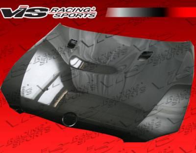 VIS Racing - BMW 3 Series VIS Racing OEM Style Double Sided Dry Carbon Hood - 07BME92M32DOE-010V
