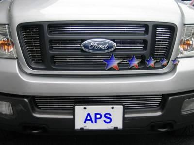 APS - Ford F150 APS Billet Grille - Bumper - Aluminum - F85351A