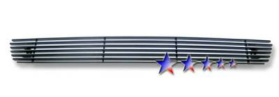 APS - Ford F150 APS Black Billet Grille - Bumper - Aluminum - F85351H
