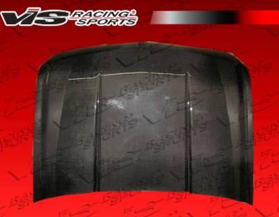 VIS Racing - Chevrolet Aveo VIS Racing OEM Black Carbon Fiber Hood - 07CHAVE4DOE-010C