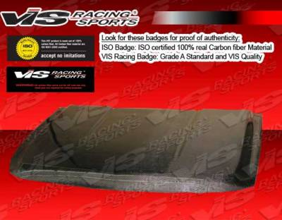 VIS Racing - Chevrolet Tahoe VIS Racing OEM Black Carbon Fiber Hood - 07CHTAH4DOE-010C