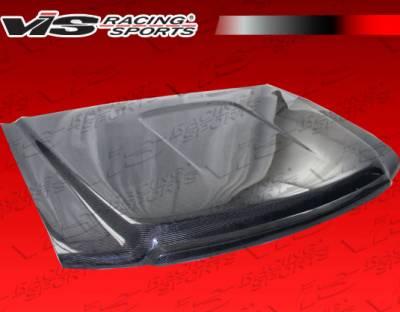VIS Racing - GMC Sierra VIS Racing OEM Black Carbon Fiber Hood - 07GMSIE4DOE-010C