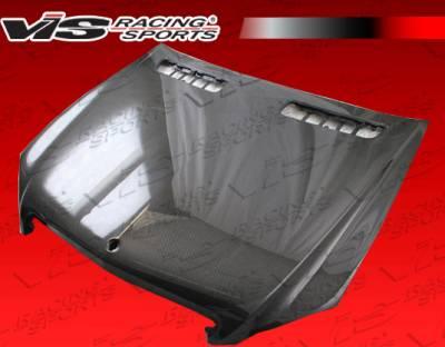 VIS Racing - Mercedes-Benz S Class VIS Racing OEM Black Carbon Fiber Hood - 07MEW2214DOE-010C