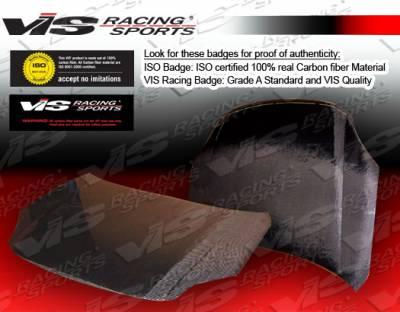 VIS Racing - Nissan Sentra VIS Racing OEM Black Carbon Fiber Hood - 07NSSEN4DOE-010C