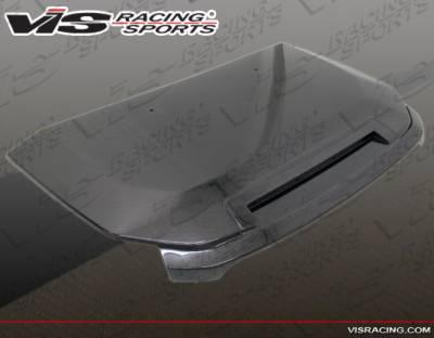 VIS Racing - Toyota FJ Cruiser VIS Racing OEM Black Carbon Fiber Hood - 07TYFJ2DOE-010C