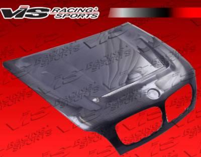 VIS Racing - BMW X6 VIS Racing DTM Black Carbon Fiber Hood - 08BME714DDTM-010C