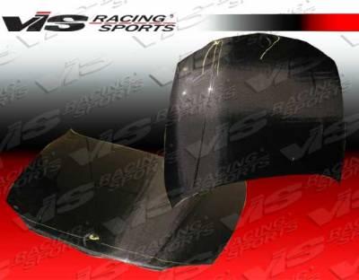 VIS Racing - BMW 1 Series VIS Racing OEM Black Carbon Fiber Hood - 08BME822DOE-010C