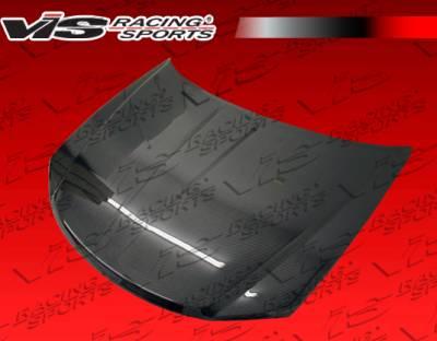 VIS Racing - Dodge Avenger VIS Racing OEM Black Carbon Fiber Hood - 08DGAVG4DOE-010C