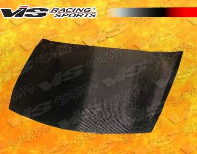 VIS Racing - Honda Accord 2DR VIS Racing OEM Black Carbon Fiber Hood - 08HDACC2DOE-010C