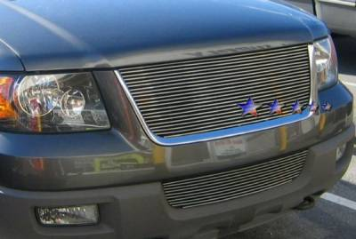 APS - Ford Expedition APS Billet Grille - Bumper - Stainless Steel - F85373S