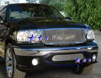APS - Ford F150 APS Billet Grille - Bumper - Aluminum - F85384A