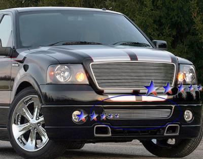 APS - Ford F150 APS Billet Grille - Bumper - Aluminum - F85385A