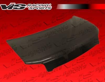 VIS Racing - Scion xB VIS Racing OEM Black Carbon Fiber Hood - 08SNXB4DOE-010C