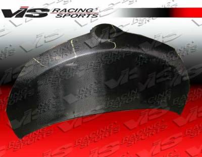 VIS Racing - Scion xD VIS Racing OEM Black Carbon Fiber Hood - 08SNXD4DOE-010C