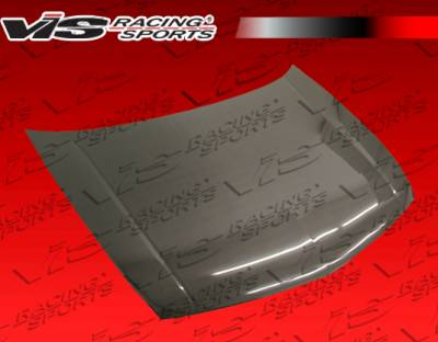 VIS Racing - Acura TSX VIS Racing OEM Black Carbon Fiber Hood - 09ACTSX4DOE-010C