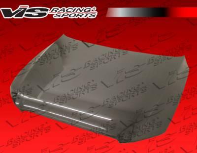 VIS Racing - Audi Q5 VIS Racing OEM Black Carbon Fiber Hood - 09AUQ54DOE-010C