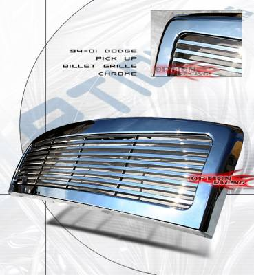 Custom - Custom Style Chrome Grille