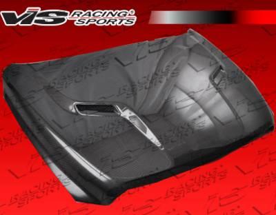 VIS Racing - Dodge Ram VIS Racing SRT-2 Black Carbon Fiber Hood - 09DGRAM2DSRT2-010C