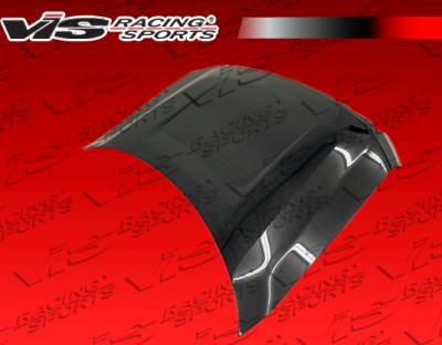 VIS Racing - Ford F150 VIS Racing OEM Black Carbon Fiber Hood - 09FDF152DOE-010C