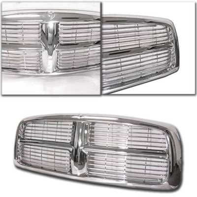 Custom - 02 05 Chrome Billet Grille