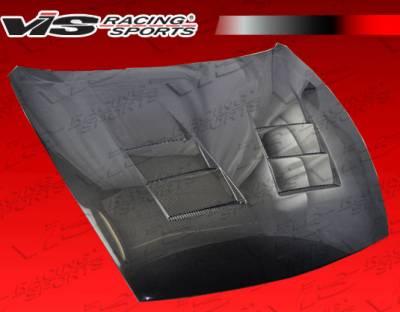 VIS Racing - Nissan 370Z VIS Racing Terminator Black Carbon Fiber Hood - 09NS3702DTM-010C