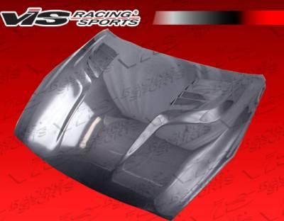 VIS Racing - Nissan Skyline VIS Racing GT Black Carbon Fiber Hood - 09NSR352DGT-010C