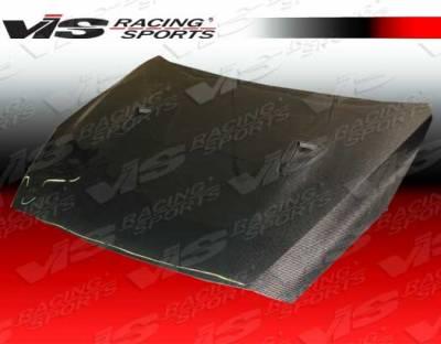 VIS Racing - Nissan Skyline VIS Racing OEM Black Carbon Fiber Hood - 09NSR352DOE-010C