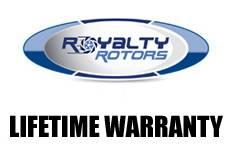 Royalty Rotors - Volkswagen Passat Royalty Rotors Slotted & Cross Drilled Brake Rotors - Rear