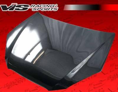 VIS Racing - Hyundai Genesis VIS Racing OEM Black Carbon Fiber Hood - 10HYGEN2DOE-010C